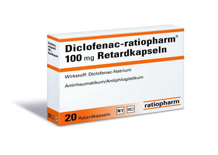 Диклофенак-ратиофарм механизм действия