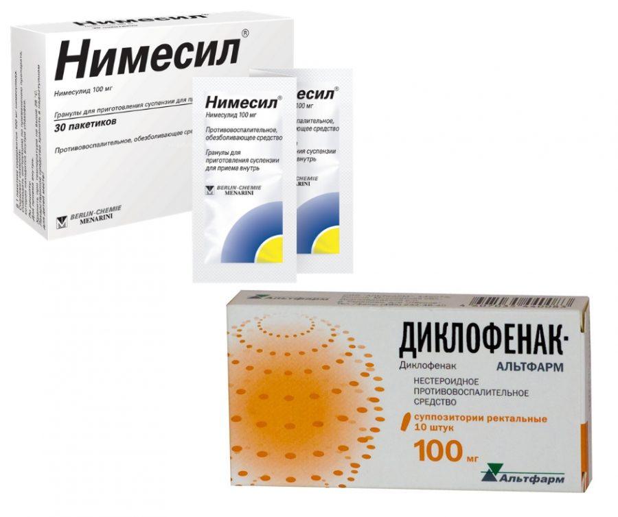 Найз или Диклофенак: что лучше, инструкция по применению, можно ли одновременно, что эффективнее при остеохондрозе, боли в суставах