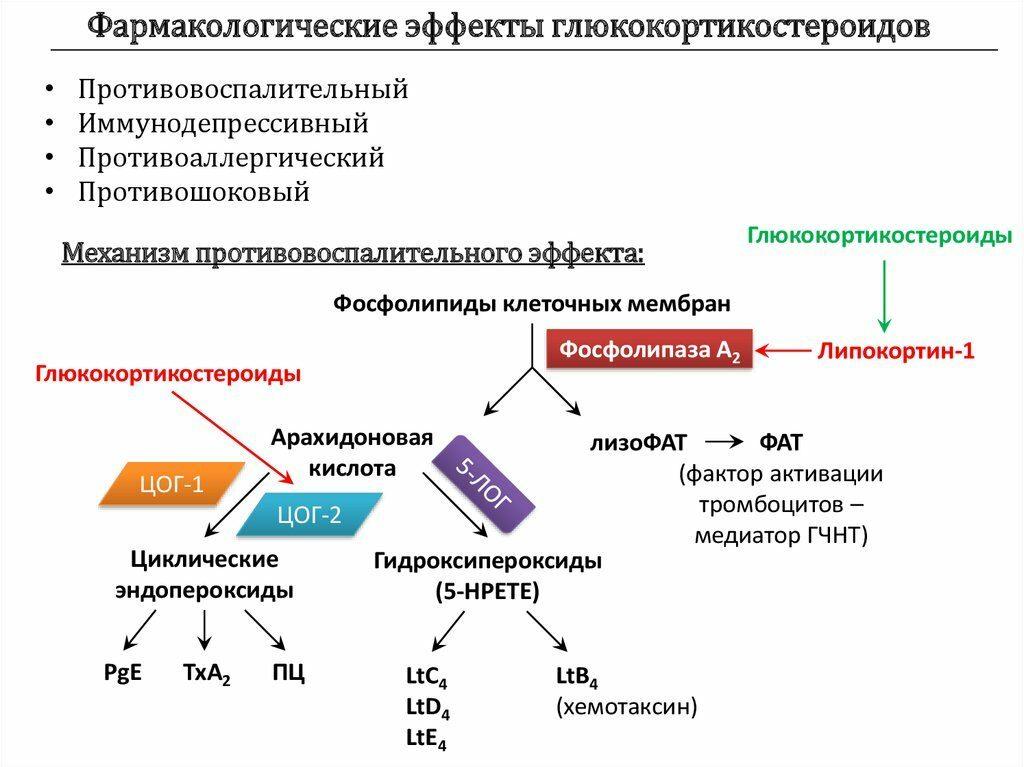 Дексаметазон свойства препарата